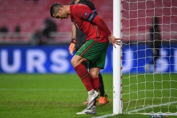 کریستیانو رونالدو بعد از شکست: باید به خودمان افتخار کنیم!