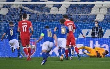 ویدیو| خلاصه بازی ایتالیا ۲-۰ لهستان