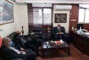 جلسه سرپرست باشگاه استقلال با جباری