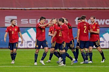 اسپانیا حال آلمان را بدجور گرفت و صعود کرد
