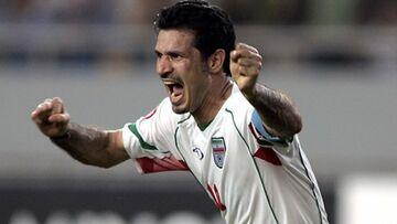 خاطره بازی علی دایی در سالروز صعود ایران به جام جهانی