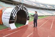 عکس| استادیوم آزادی ضدعفونی شد