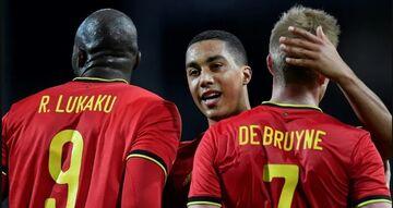 ویدیو| خلاصه بازی بلژیک ۴-۲ دانمارک