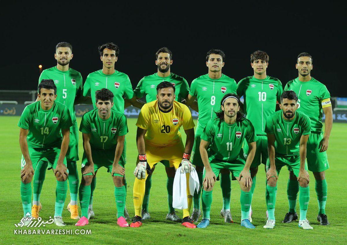 صدای عراقیها هم درآمد/ زمین چمن ورزشگاه بحرین خندهدار است!