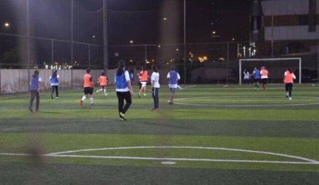 عکس| آغاز اولین لیگ فوتبال زنان در عربستان
