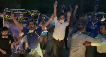 ویدیو| استقبال از تیم استقلال در فرودگاه اهواز