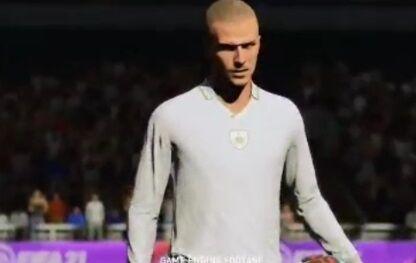 ویدیو  دیوید بکهام، آیکون جدید بازی FIFA21