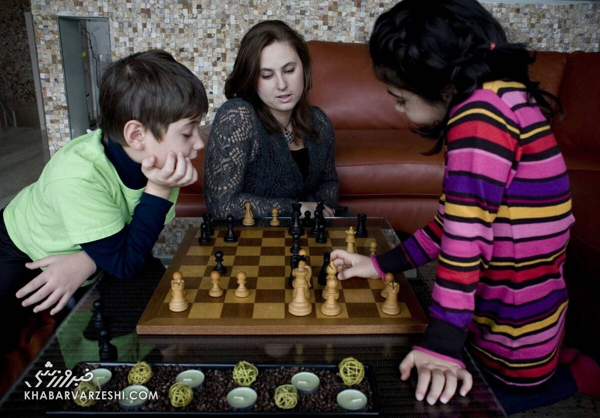 یودیت پولگار و فرزندانش