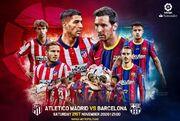 اتلتیکومادرید – بارسلونا؛ بازی محبوب کاتالانها