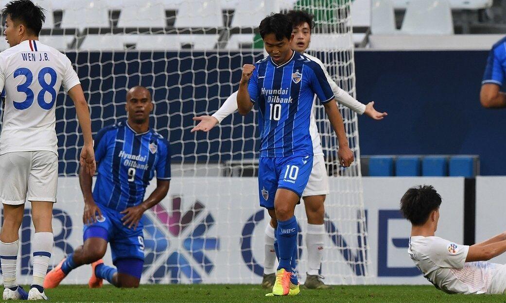 پیروزی قاطع اولسان هیوندای مقابل شانگهای شنهوای
