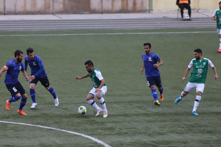 هفته اول لیگ آزادگان خیبر خرمآباد چوکا تالش