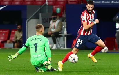 ویدیو  خلاصه بازی اتلتیکومادرید ۱-۰ بارسلونا