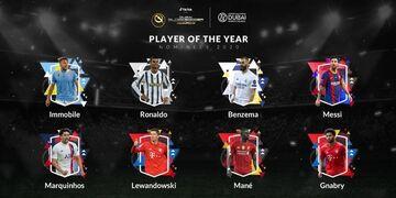 رقابت لیونل مسی و کریستیانو رونالدو با روبرت لواندوفسکی برای جایزه بهترین بازیکن گلوب ساکر