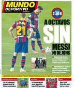 روزنامه موندو| تا هشتتا بدون مسی یا دییونگ