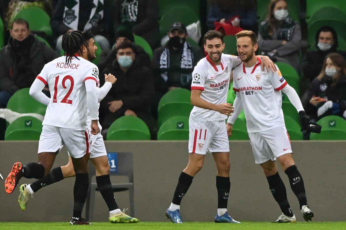 برد دلچسب سویا با چاشنی صعود به دور بعدی لیگ قهرمانان اروپا
