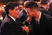 عکس| واکنش مسی به درگذشت مارادونا: او ابدی است
