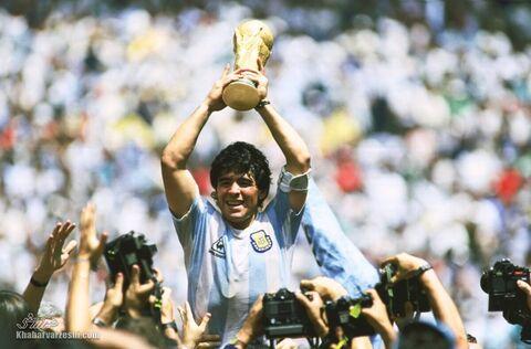 تصاویربه یادماندنی از مارادونا