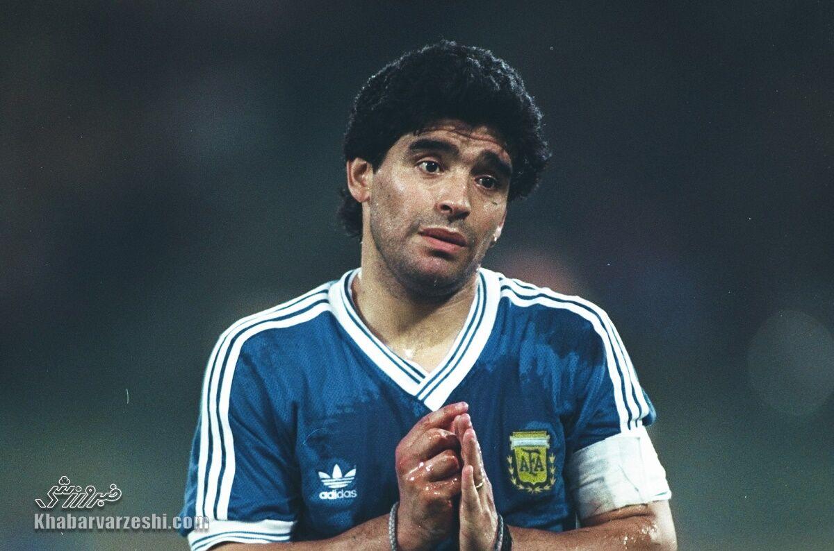 عکس| فدراسیون فوتبال آرژانتین درگذشت دیگو مارادونا را تأیید کرد