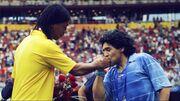 رونالدینیو: شب ملاقات با مارادونا بهترین شب زندگیام بود