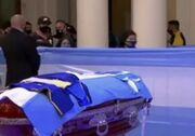 ویدیو| مراسم وداع با مارادونا در کاخ ریاستجمهوری آرژانتین