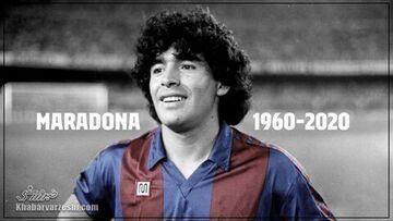 بنر دیگو مارادونا