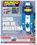 روزنامه موندو| برای من گریه کن، آرژانتین