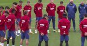 ویدیو| ادای احترام به مارادونا در تمرینات بارسلونا