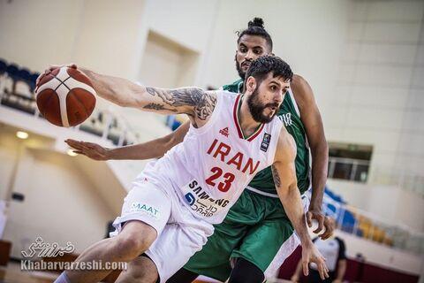 گزارش تصویری| پیروزی بسکتبال ایران مقابل عربستان در کاپ آسیا