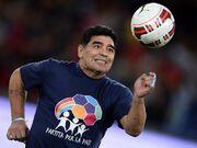 مارادونا با اختلاف بهتر از پله، رونالدو و مسی است