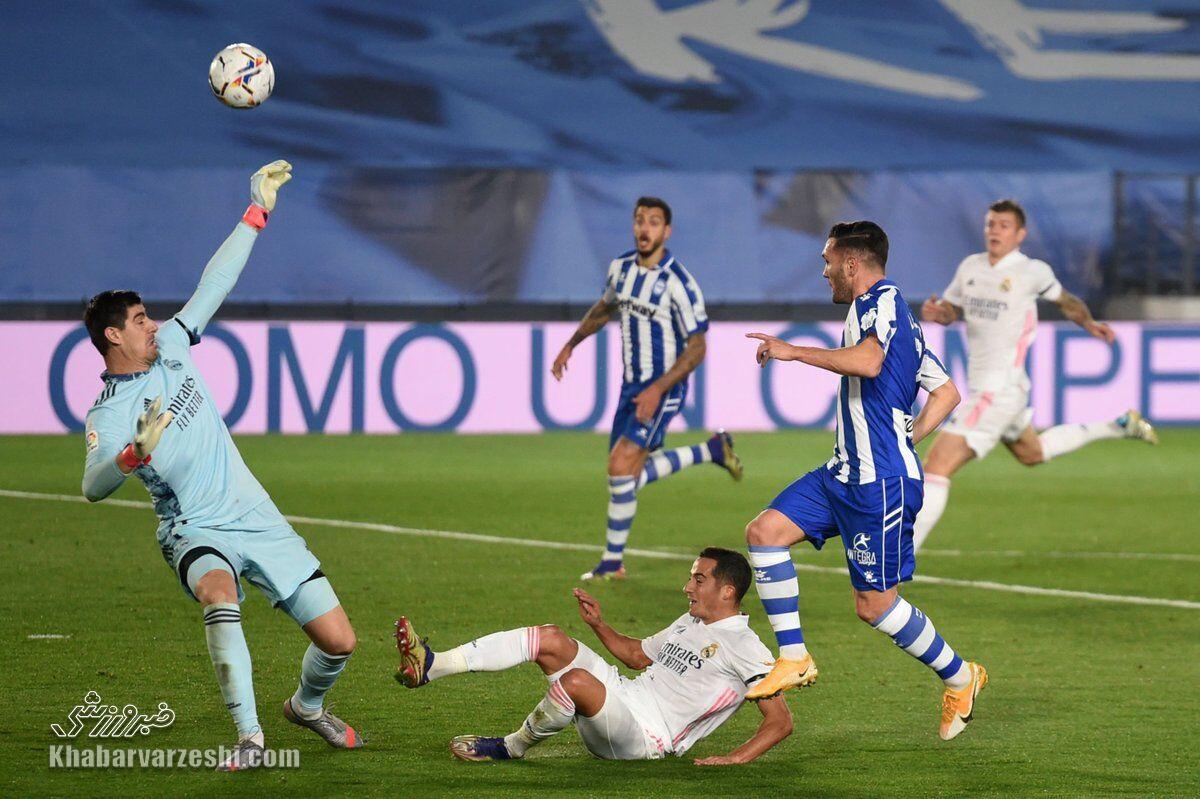 شکست رئال مادرید در خانه برابر آلاوس
