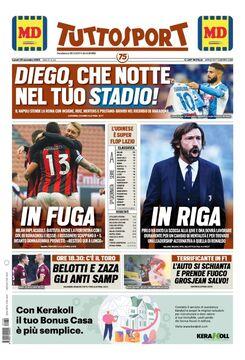 روزنامه توتو| دیگو، چه شبی در استادیوم تو!