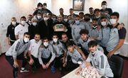عکس| جشن تراکتوریها برای منصوریان
