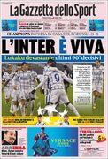 روزنامه گاتزتا| اینتر زنده است