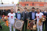 عکس| تقدیر از منصوریان در رفسنجان