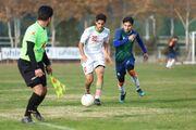 گزارش تصویری  تساوی بدون گل تیم ملی جوانان برابر سایپا