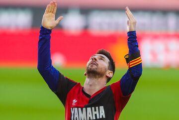 جریمه مسی به خاطر مارادونا