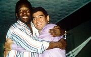 پیام احساسی پله برای مارادونا: میخواهم بگویم دوستت دارم