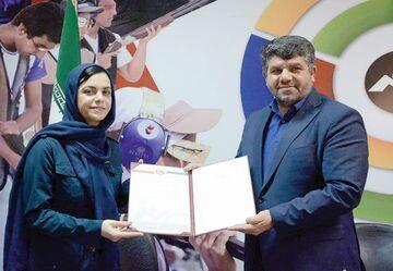 قرارداد الهام هاشمی با فدراسیون تیراندزی تمدید شد