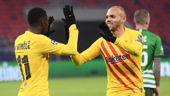 ویدیو| خلاصه بازی فرنتسواروش ۰-۳ بارسلونا