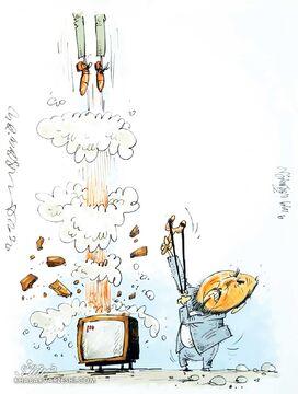 کارتون| خروج فردوسیپور از مدار!