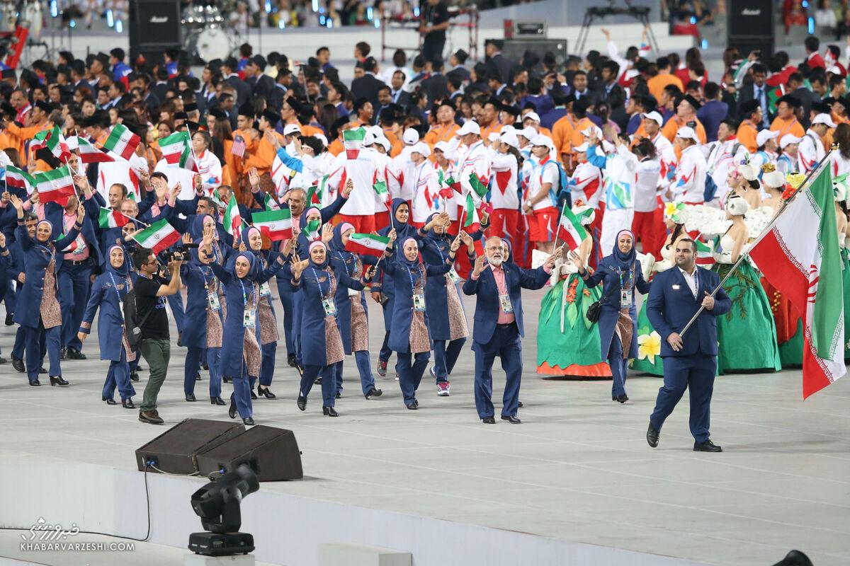 اسامی ورزشکاران ایرانی حاضر در افتتاحیه المپیک/ هیچ رئیس فدراسیونی رژه نمیرود