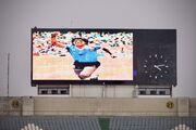 عکس| ادای احترام به دیگو مارادونا در آزادی، اکباتان و تبریز