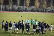 هافبک مصدوم استقلال با تیم تمرین کرد