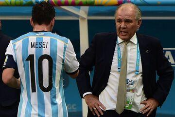 عکس| لیونل مسی: با الخاندرو سابیا در بهترین لحظات فوتبالیام زندگی کردم