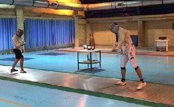 ویدیو| روز آخر اردوی اول تمرین تیم ملی شمشیربازی سابر