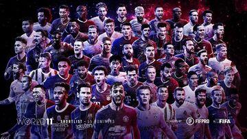 عکس| لیست اولیه تیم منتخب سال ۲۰۲۰ فیفا