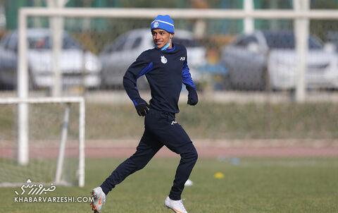 تمرین استقلال آذر 99
