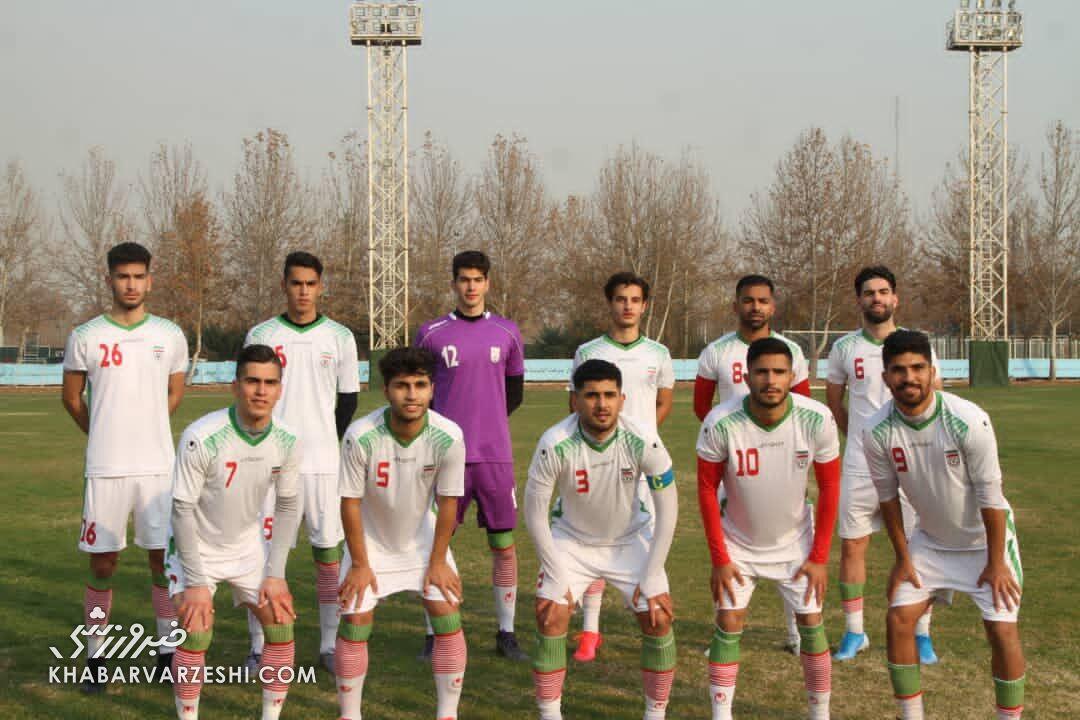 تیم ملی جوانان به مصاف سپاهان نوین میرود