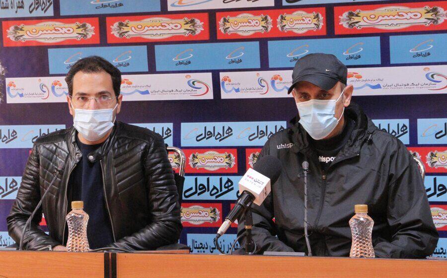 ویدیو| یحیی گلمحمدی: هر تیمی جای ما بود از هم میپاشید