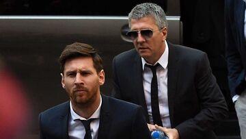 رد مذاکره لیونل مسی با پاریسنژرمن توسط پدر کاپیتان بارسلونا